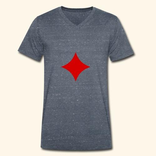Poker - Männer Bio-T-Shirt mit V-Ausschnitt von Stanley & Stella