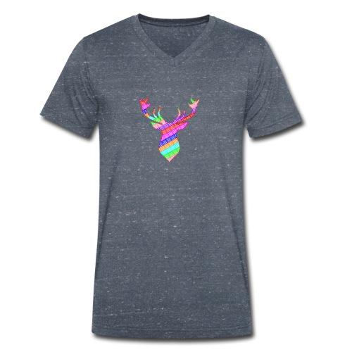 cerf - T-shirt bio col V Stanley & Stella Homme