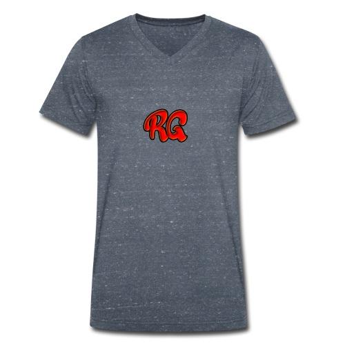 Rik Gaming - Mannen bio T-shirt met V-hals van Stanley & Stella
