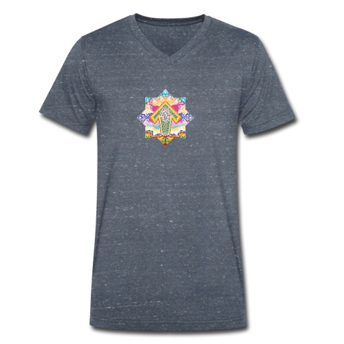 decorative - Men's Organic V-Neck T-Shirt by Stanley & Stella