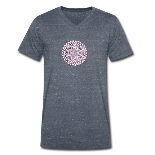 vortex - Men's Organic V-Neck T-Shirt by Stanley & Stella
