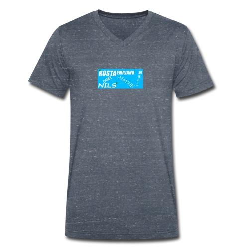 random design - T-shirt bio col V Stanley & Stella Homme