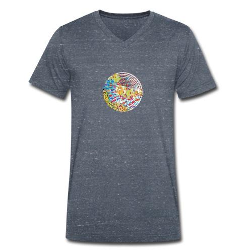 Unfold - Men's Organic V-Neck T-Shirt by Stanley & Stella