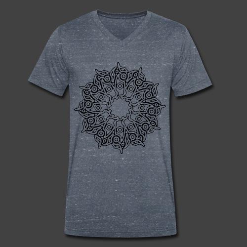 RF052 - BLACK - Men's Organic V-Neck T-Shirt by Stanley & Stella