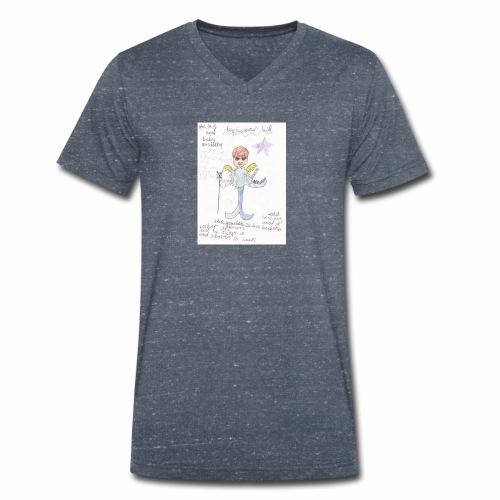 Big Swimmer Bill DHIRT - Men's Organic V-Neck T-Shirt by Stanley & Stella