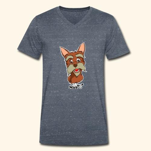 Nice Dogs schnauzer 2 - T-shirt ecologica da uomo con scollo a V di Stanley & Stella