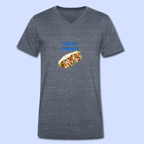 KillieKebab - Men's Organic V-Neck T-Shirt by Stanley & Stella