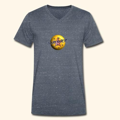 I AM Magic1 - Männer Bio-T-Shirt mit V-Ausschnitt von Stanley & Stella