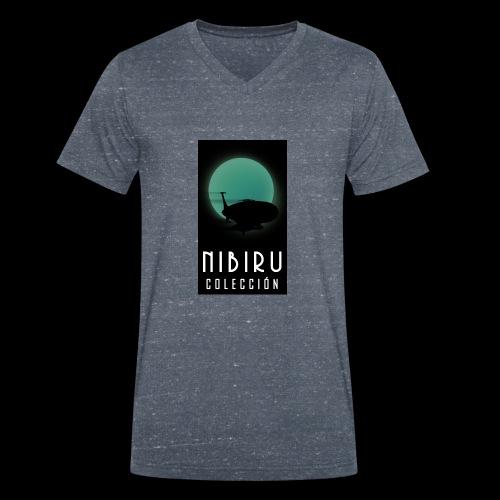 colección Nibiru - Camiseta ecológica hombre con cuello de pico de Stanley & Stella