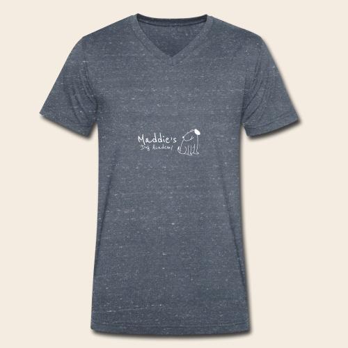 Académie des chiens de Maddie (blanc) - T-shirt bio col V Stanley & Stella Homme