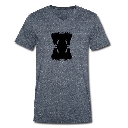 Cheval cabré en ombres chinoise - T-shirt bio col V Stanley & Stella Homme