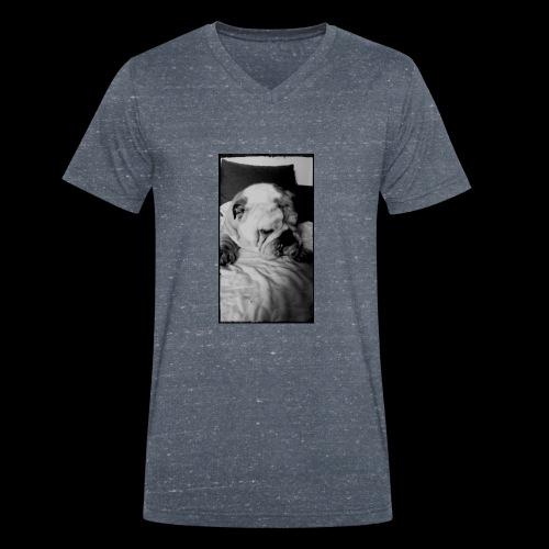 bulldog - T-shirt bio col V Stanley & Stella Homme