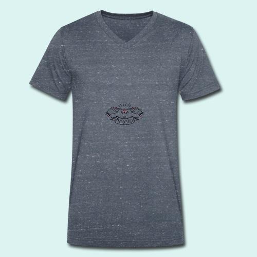La Rola - Camiseta ecológica hombre con cuello de pico de Stanley & Stella