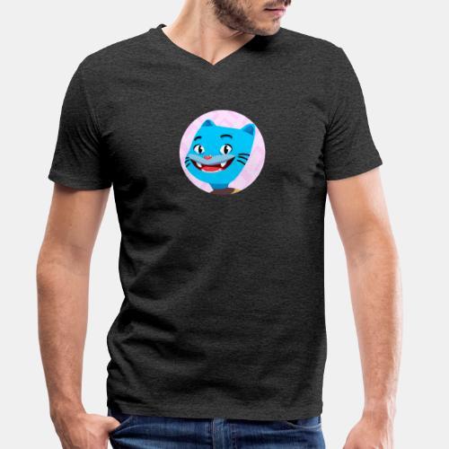 Gumball 2 - Camiseta ecológica hombre con cuello de pico de Stanley & Stella