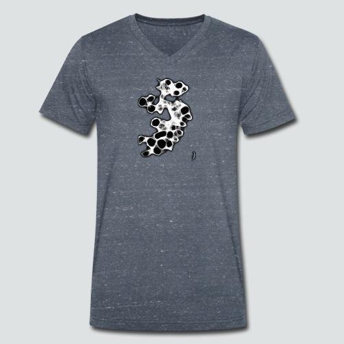 Dragon 1 png - Männer Bio-T-Shirt mit V-Ausschnitt von Stanley & Stella