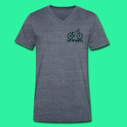 DOWNHILL - Männer Bio-T-Shirt mit V-Ausschnitt von Stanley & Stella