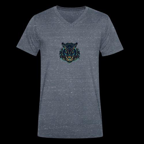 Tigers'eye - T-shirt bio col V Stanley & Stella Homme