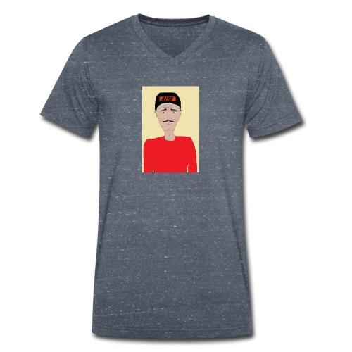 DJ , new shirt - Ekologisk T-shirt med V-ringning herr från Stanley & Stella