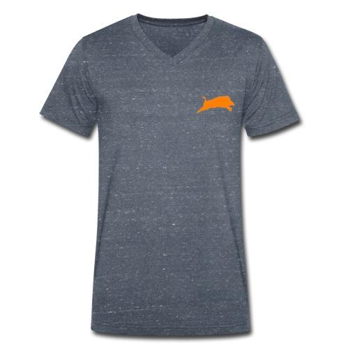 Wildschwein png - Männer Bio-T-Shirt mit V-Ausschnitt von Stanley & Stella