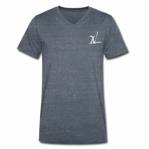LogoW - Men's Organic V-Neck T-Shirt by Stanley & Stella