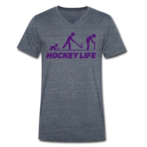 Hockey Life - T-shirt bio col V Stanley & Stella Homme