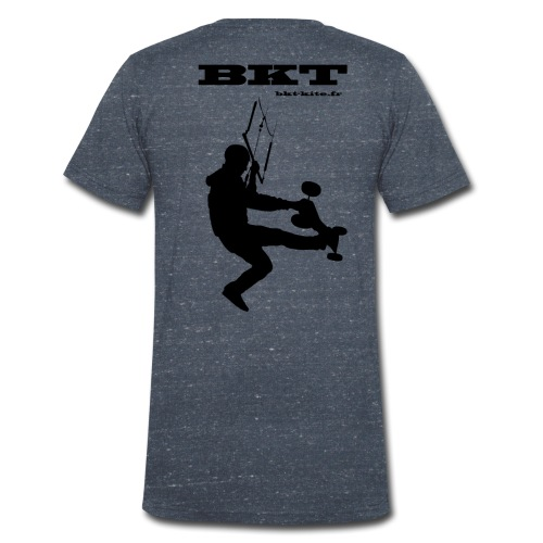 logo dos - T-shirt bio col V Stanley & Stella Homme