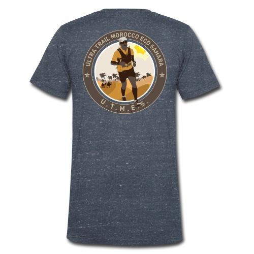 UTMES Logo ohne Gruen - Männer Bio-T-Shirt mit V-Ausschnitt von Stanley & Stella