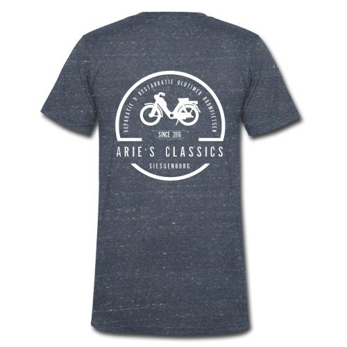 arie s classics logo - Mannen bio T-shirt met V-hals van Stanley & Stella