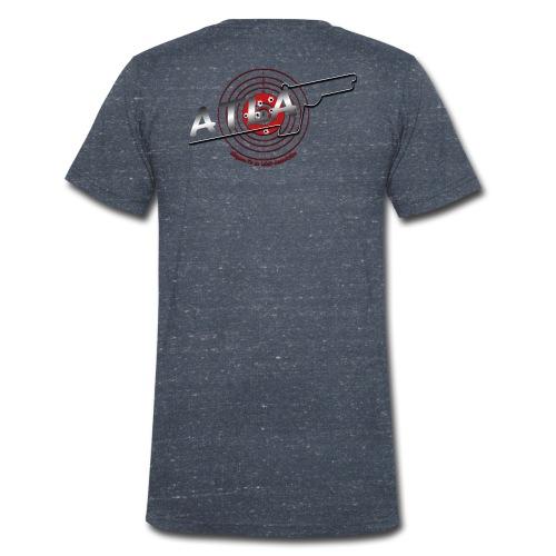 blason association3 png - T-shirt bio col V Stanley & Stella Homme