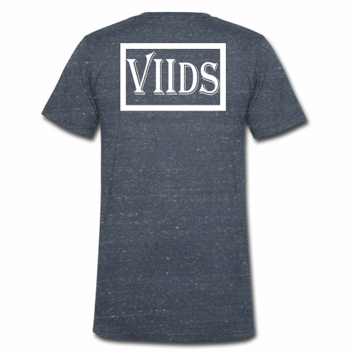 Viids logo - Ekologiczna koszulka męska z dekoltem w serek Stanley & Stella