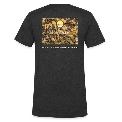 beehappy ikf www - Männer Bio-T-Shirt mit V-Ausschnitt von Stanley & Stella
