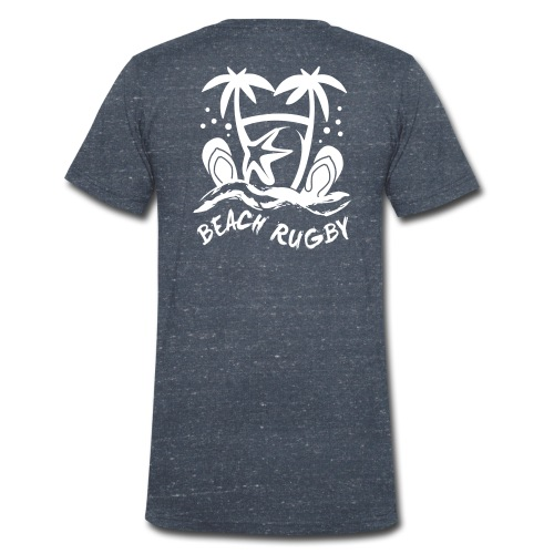 BEACH RUGBY - T-shirt bio col V Stanley & Stella Homme