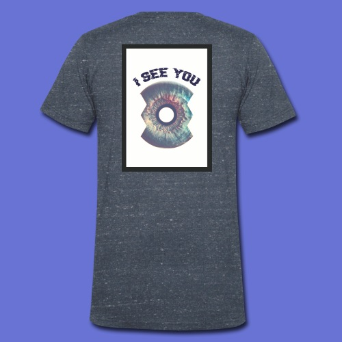 I SEE YOU - T-shirt bio col V Stanley & Stella Homme