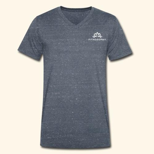 FITNOSOPHY - Men's Organic V-Neck T-Shirt by Stanley & Stella