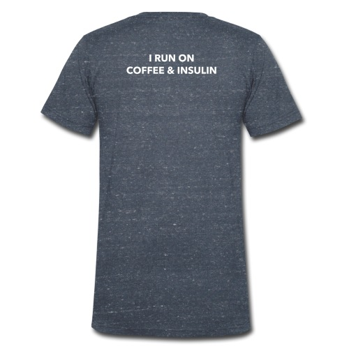 I Run on Coffee & Insulin v2 - Stanley & Stellan miesten luomupikeepaita