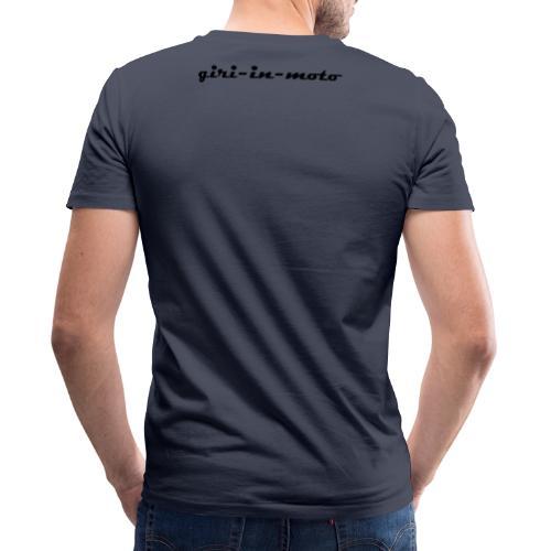GIRI IN MOTO LIFESTYLE RACING NERO - T-shirt ecologica da uomo con scollo a V di Stanley & Stella