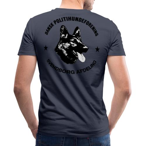 Svendborg ph sort - Økologisk Stanley & Stella T-shirt med V-udskæring til herrer