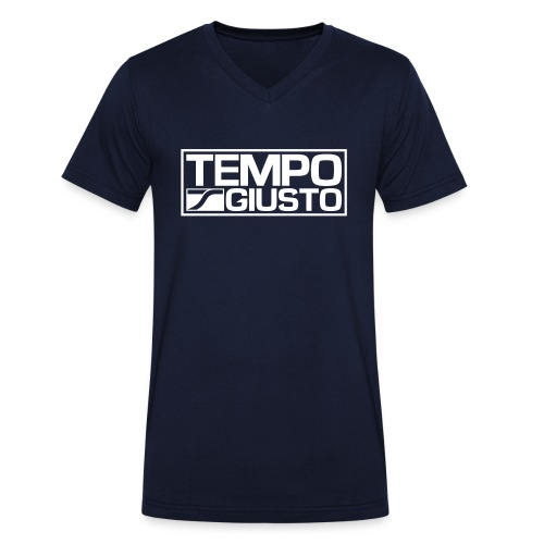 Tempo Giusto Rectangle - Men's Organic V-Neck T-Shirt by Stanley & Stella