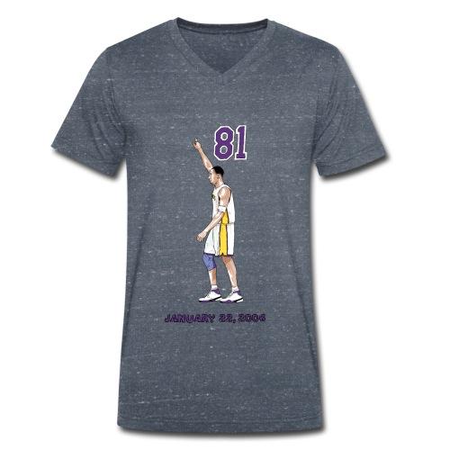 81 - Männer Bio-T-Shirt mit V-Ausschnitt von Stanley & Stella