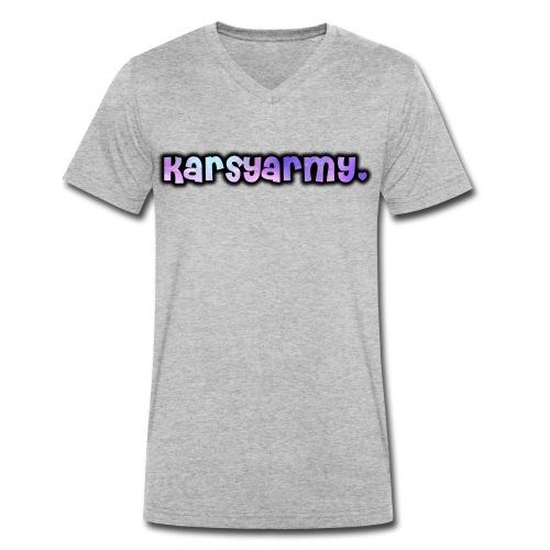 T Shirt Karsyarmy♥ - Männer Bio-T-Shirt mit V-Ausschnitt von Stanley & Stella