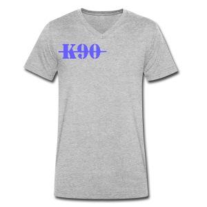 K90 Art Clothing - Men's Organic V-Neck T-Shirt by Stanley & Stella