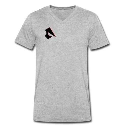 Channel Logo - Männer Bio-T-Shirt mit V-Ausschnitt von Stanley & Stella