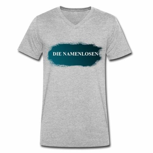 Die Namenlosen - Männer Bio-T-Shirt mit V-Ausschnitt von Stanley & Stella