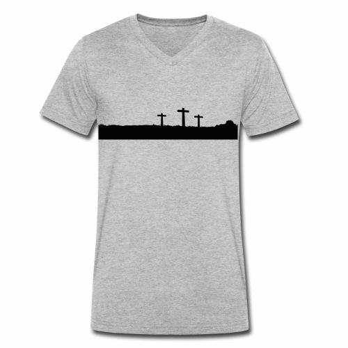 Calvary - Männer Bio-T-Shirt mit V-Ausschnitt von Stanley & Stella