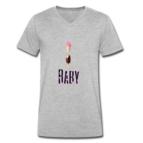 Ice ice Baby - Männer Bio-T-Shirt mit V-Ausschnitt von Stanley & Stella