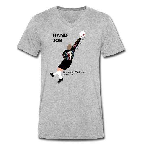 Hand Job - Økologisk Stanley & Stella T-shirt med V-udskæring til herrer