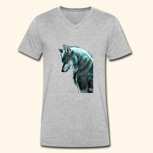 Breathmode wolf - T-shirt bio col V Stanley & Stella Homme