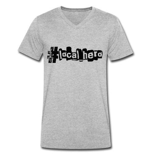 localhero - Men's Organic V-Neck T-Shirt by Stanley & Stella