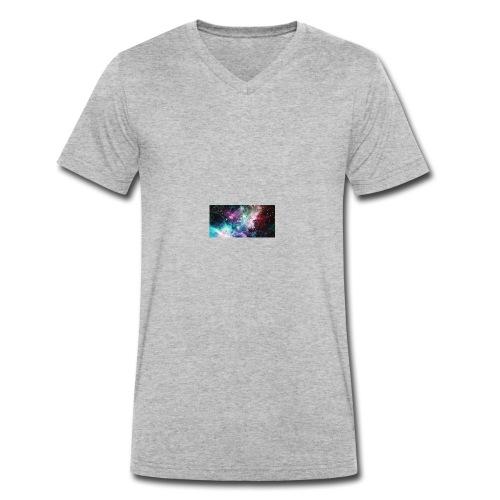 galaxy lux - Men's Organic V-Neck T-Shirt by Stanley & Stella