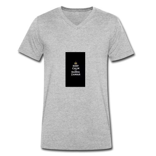 Keep Calm and barra zamer - Männer Bio-T-Shirt mit V-Ausschnitt von Stanley & Stella